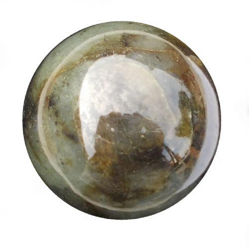 Labradorite Crystal Ball Scrying Divination Fortune Telling Sphere 60mm 300g LA11